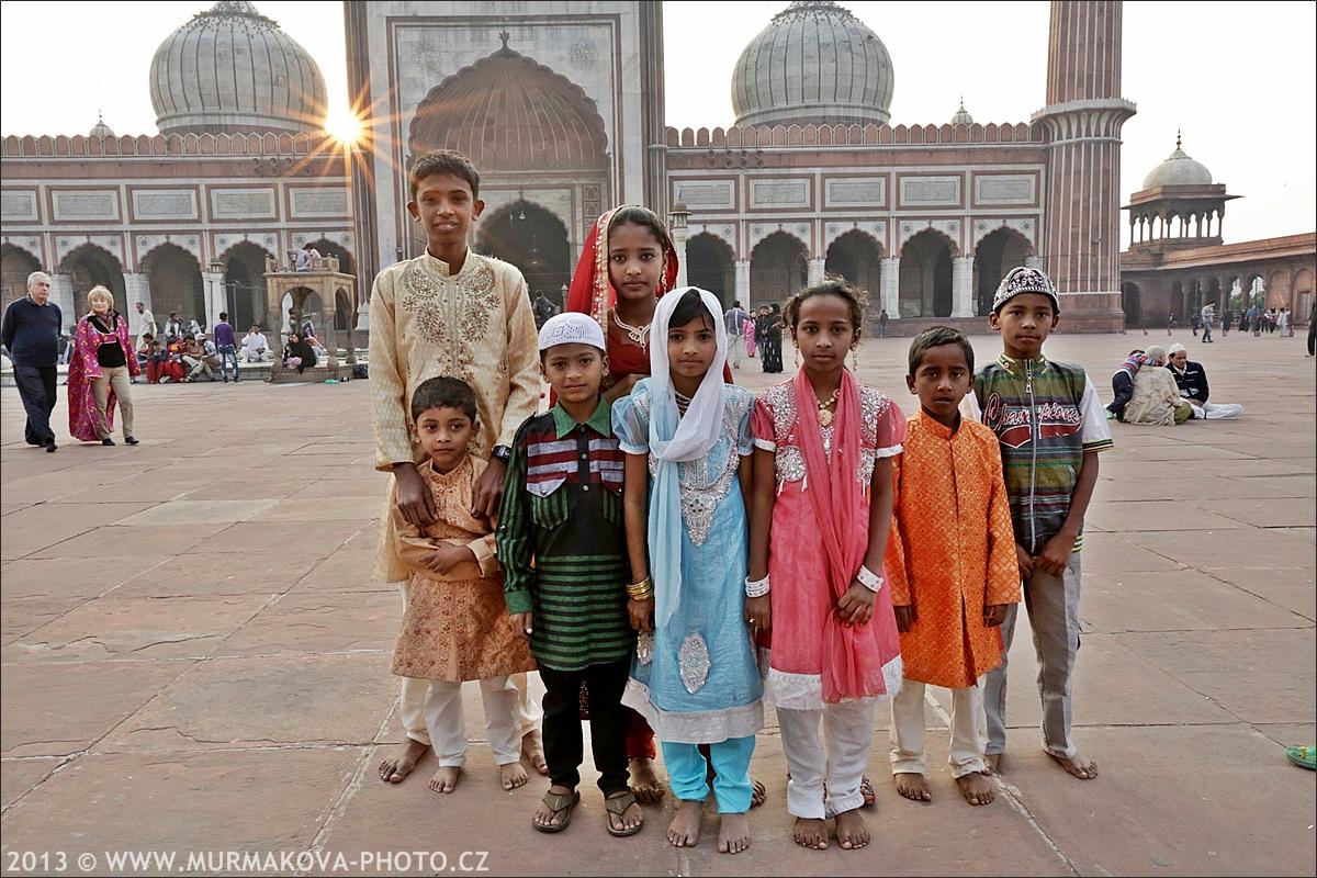 děti v Delhi