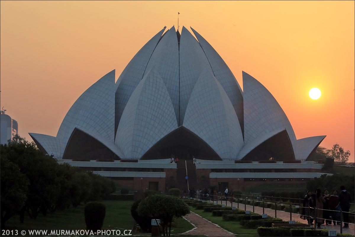LOTOS temple New Delhi