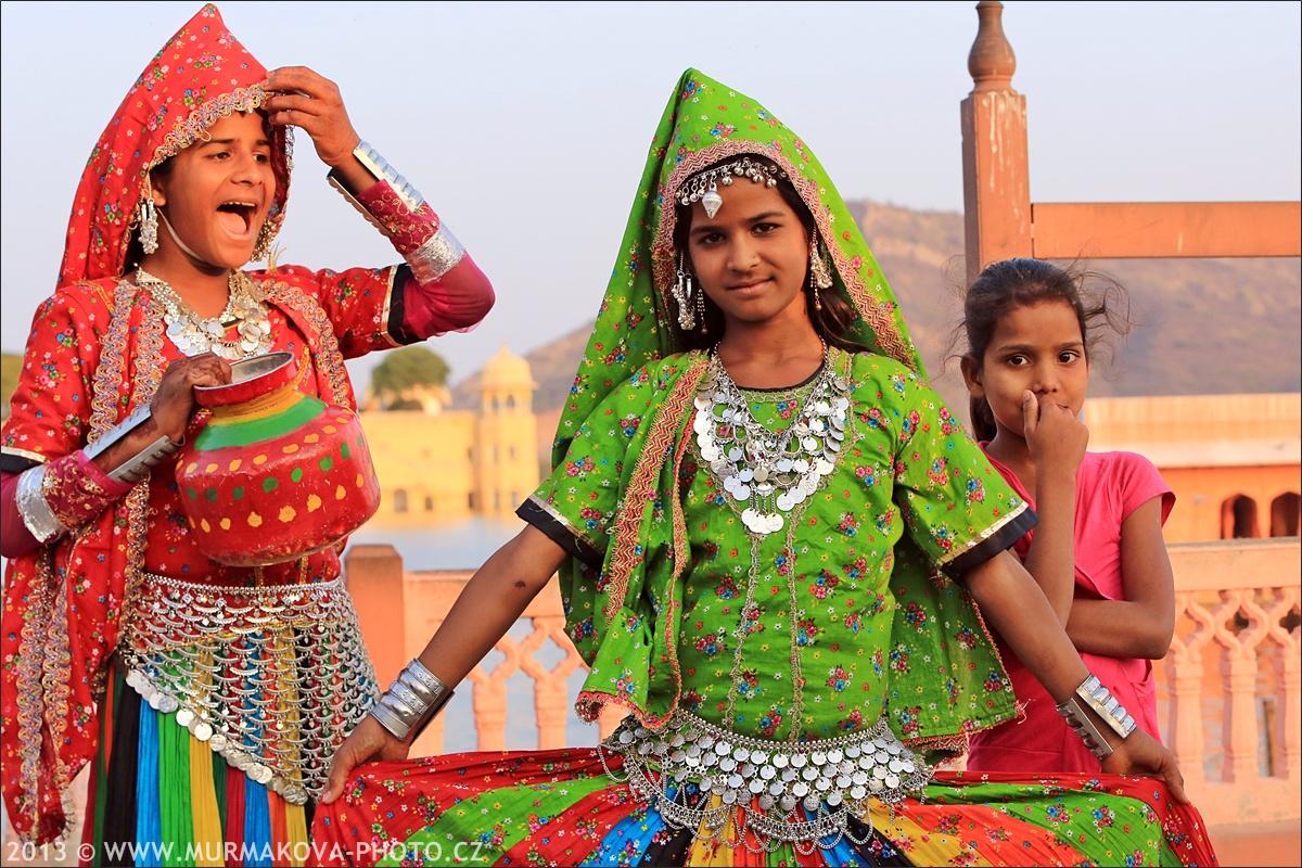dívky v Jaipuru